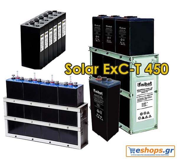 Μπαταρία 2V UNIBAT SOLAR ExC 450 (451AH C120)