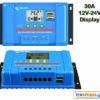 Victron BlueSolar PWM Charge Controller-LCD and USB 12/24V/30A Ηλιακός ρυθμιστής φόρτισης 30A ψηφιακός με Οθόνη υγρών κρυστάλλων για φωτοβολταϊκά πλαίσια